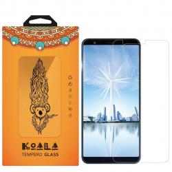 محافظ صفحه نمایش شیشه ای کوالا مدل Tempered مناسب برای گوشی موبایل ایسوس Zenfone Max Plus ZB570TL (بی رنگ)