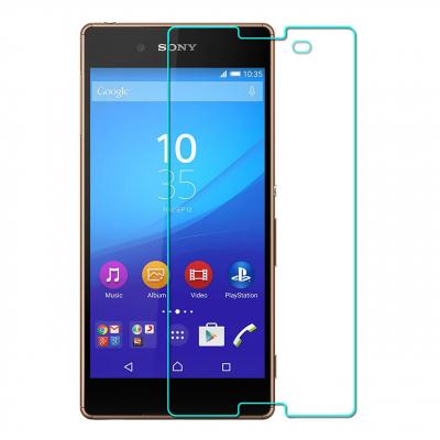 محافظ صفحه نمایش شیشه ای مدل Tempered مناسب برای گوشی موبایل سونی Xperia Z3 Plus (بی رنگ)