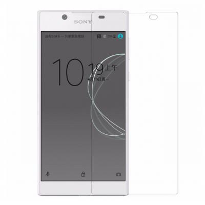 محافظ صفحه نمایش شیشه ای مدل Tempered مناسب برای گوشی موبایل سونی Xperia L1 (بی رنگ)