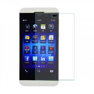 محافظ صفحه نمایش شیشه ای تمپرد مناسب برای گوشی موبایل بلک بری Z10 (بی رنگ شفاف)