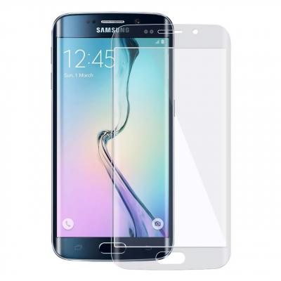 محافظ صفحه نمایش شیشه ای تمپرد مدل Full Cover مناسب برای گوشی موبایل سامسونگ Galaxy S6 Edge (مشکی)