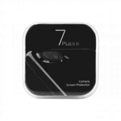 محافظ لنز دوربین شیشه ای مدل تمپرد مناسب برای گوشی موبایل اپل آیفون 7 پلاس (بی رنگ)