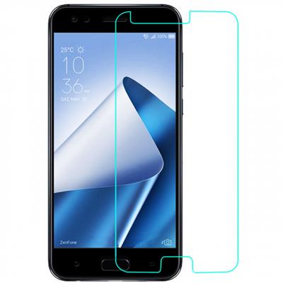 محافظ صفحه نمایش شیشه ای تمپرد مناسب برای گوشی Asus Zenfone 4 /ZE554KL (بی رنگ شفاف)