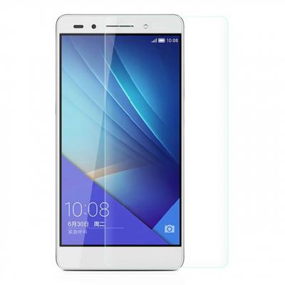 محافظ صفحه نمایش شیشه ای مدل Tempered مناسب برای گوشی موبایل هوآوی Honor 7 (بی رنگ شفاف)