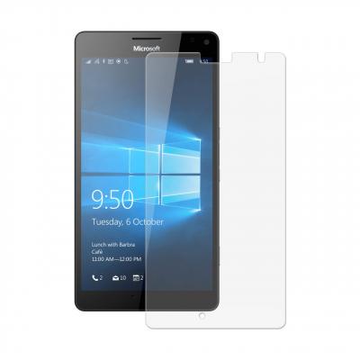 محافظ صفحه نمایش شیشه ای تمپرد مناسب برای گوشی موبایل مایکروسافت لومیا 950 (بی رنگ شفاف)