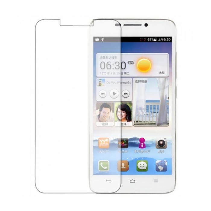 محافظ صفحه نمایش شیشه ای مدل Tempered مناسب برای گوشی موبایل هوآوی Ascend G630