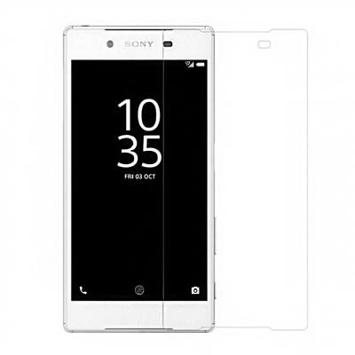 محافظ صفحه نمایش شیشه ای تمپرد مناسب برای گوشی موبایل سونی Xperia Z5 (بی رنگ شفاف)
