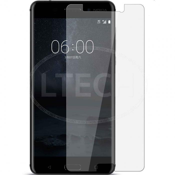 محافظ صفحه نمایش شیشه ای 9H مناسب برای گوشی موبایل نوکیا 6