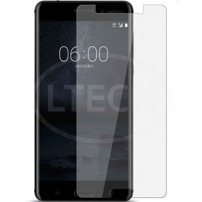 محافظ صفحه نمایش شیشه ای 9H مناسب برای گوشی موبایل نوکیا 6 (بی رنگ)