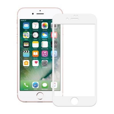 محافظ صفحه نمایش شیشه ای تمپرد مدل Full Cover مناسب برای گوشی موبایل اپل  آیفون 7 پلاس (مشکی)