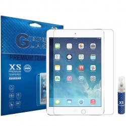 محافظ صفحه نمایش شیشه ای ایکس اس مدل تمپرد مناسب برای تبلت اپل iPad mini 4 به همراه اسپری پاک کننده صفحه XS (بی رنگ)