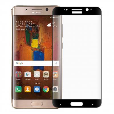 محافظ صفحه نمایش شیشه ای تمپرد مدل Full Cover مناسب برای گوشی هوآوی Mate 9 Pro (مشکی)