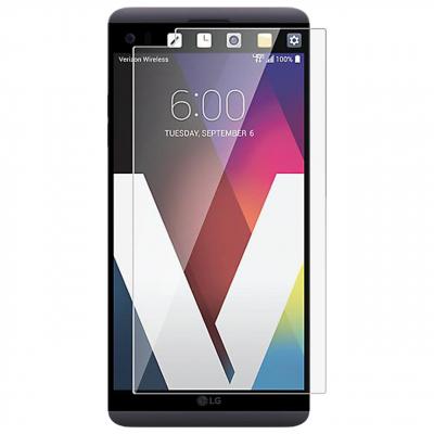 محافظ صفحه نمایش شیشه ای 9 اچ مناسب برای گوشی موبایل ال جی V20 (بی رنگ)