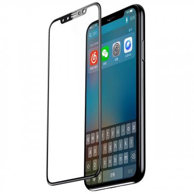 محافظ صفحه نمایش فول شیشه ای باسئوس مناسب برای گوشی موبایل Iphone X