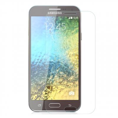 محافظ صفحه نمایش شیشه ای مدل Tempered مناسب برای گوشی موبایل سامسونگ Galaxy E7 (بی رنگ)