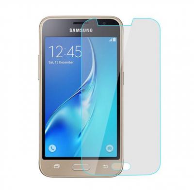محافظ صفحه نمایش شیشه ای مدل Tempered مناسب برای گوشی موبایل سامسونگ Galaxy J1 Mini Prime (بی رنگ)