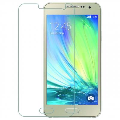 محافظ صفحه نمایش شیشه ای 9 اچ مناسب برای گوشی سامسونگ Galaxy A3 (بی رنگ)