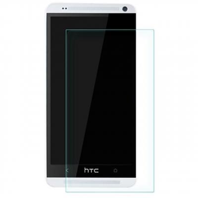 محافظ صفحه نمایش شیشه ای مدل Tempered مناسب برای گوشی موبایل HTC M7 Dual (بی رنگ شفاف)