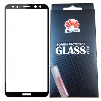 محافظ صفحه نمایش شیشه ای تمپرد مدل Full Cover مناسب برای گوشی موبایل هوآوی mate 10 lite (مشکی)