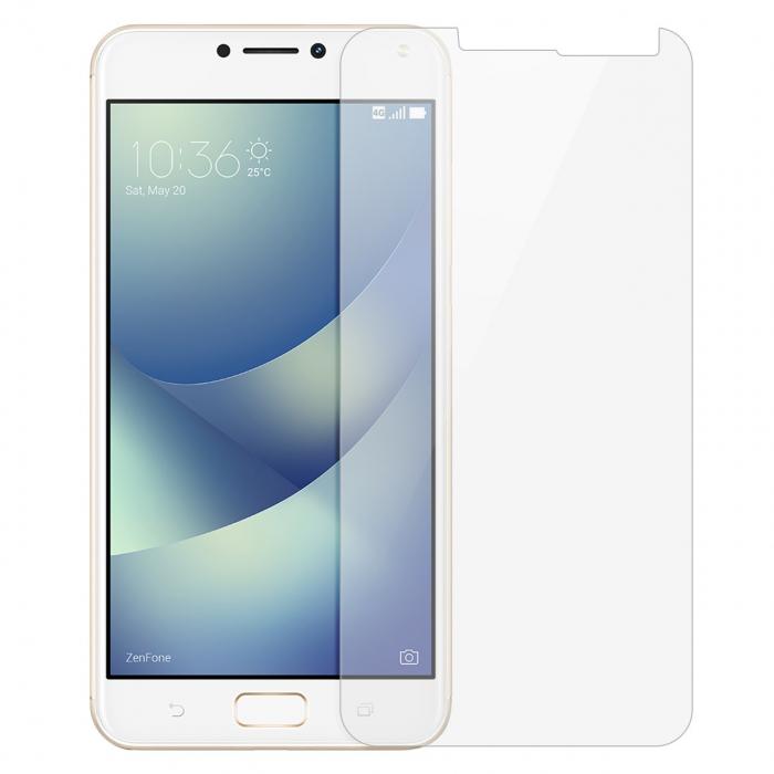 محافظ صفحه نمایش شیشه ای مدل Temperedمناسب برای گوشی موبایل ایسوس Zenfone 4 Max ZC554KL