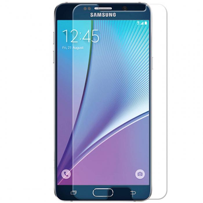 محافظ صفحه نمایش شیشه ای موکول مدل Tempered مناسب برای گوشی موبایل سامسونگ Note 5