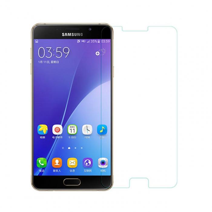 محافظ صفحه نمایش شیشه ای مدل Tempered مناسب برای گوشی موبایل سامسونگ Galaxy A7 2016