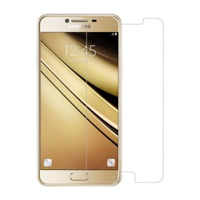 محافظ صفحه نمایش شیشه ای مدل Tempered مناسب برای گوشی موبایل سامسونگ Galaxy C5 (بی رنگ شفاف)
