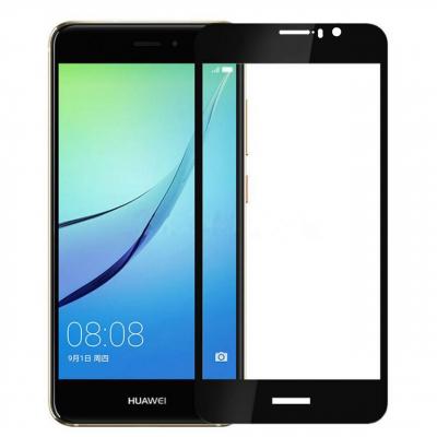 محافظ صفحه نمایش شیشه ای ریمو مدل Full Cover مناسب برای گوشی موبایل هوآوی Nova Plus (مشکی)