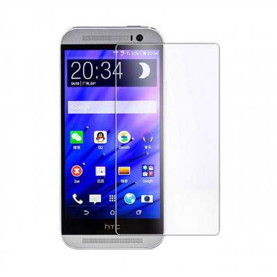 محافظ صفحه نمایش شیشه ای مدل Tempered مناسب برای گوشی موبایل اچ تی سی One M9s (بی رنگ شفاف)