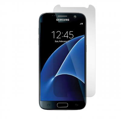 محافظ صفحه نمایش شیشه ای مدل Tempered مناسب برای گوشی موبایل سامسونگ Galaxy S7 (بی رنگ شفاف)