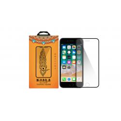 محافظ صفحه نمایش کوالا مدل Slim line مناسب برای گوشی موبایل اپل iPhone 7 / 8 (سفید)