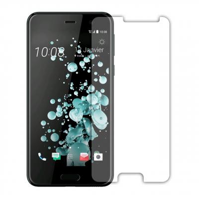 محافظ صفحه نمایش شیشه ای مدل Tempered مناسب برای گوشی موبایل اچ تی سی U Play (بی رنگ)