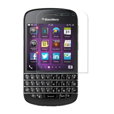 محافظ صفحه نمایش شیشه ای تمپرد مناسب برای گوشی موبایل بلک بری Q10 (بی رنگ شفاف)