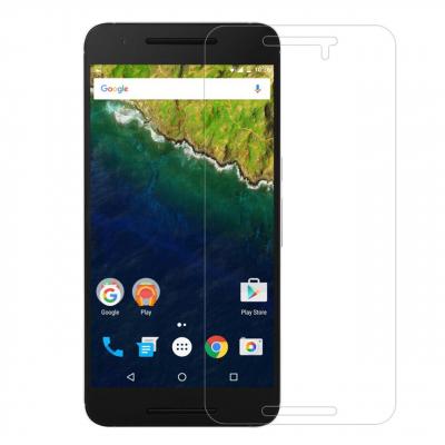 محافظ صفحه نمایش شیشه ای مدل Tempered مناسب برای گوشی موبایل هوآوی Nexus 6P (بی رنگ شفاف)