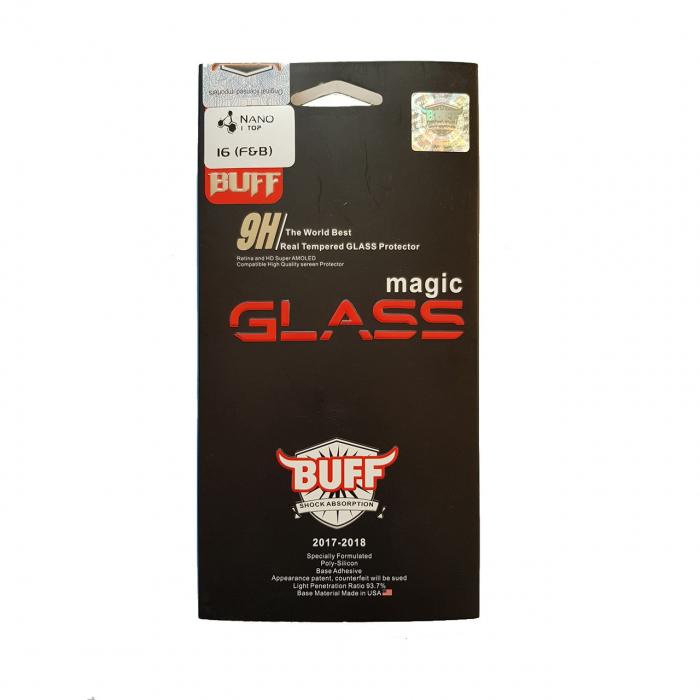 محافظ صفحه نمایش شیشه ای بوف مدل نانو پرو  مناسب برای گوشی ال جی G6