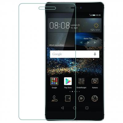محافظ صفحه نمایش شیشه ای مدل Tempered مناسب برای گوشی موبایل هوآوی P8 (بی رنگ شفاف)