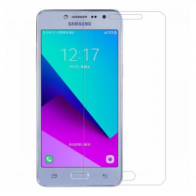 محافظ صفحه نمایش شیشه ای مدل Tempered مناسب برای گوشی موبایل سامسونگ Galaxy J2 Prime (بی رنگ)