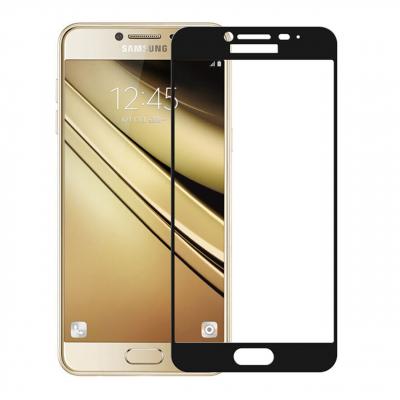 محافظ صفحه نمایش شیشه ای موکولو مدل Color مناسب برای گوشی موبایل Samsung J5 2017 (مشکی)