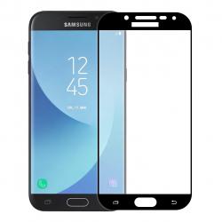 محافظ صفحه نمایش شیشه ای تمپرد مدل Full Cover مناسب برای گوشی موبایل سامسونگ Galaxy J5 Pro (طلایی)