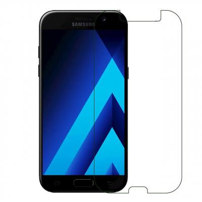 محافظ صفحه نمایش شیشه ای مدل Tempered مناسب برای گوشی موبایل سامسونگ Galaxy A5 2017 (بی رنگ)