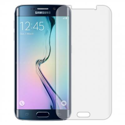 محافظ صفحه نمایش تی پی یو مدل Full Coverمناسب برای گوشی موبایل سامسونگ Galaxy S6 Edge (بی رنگ)