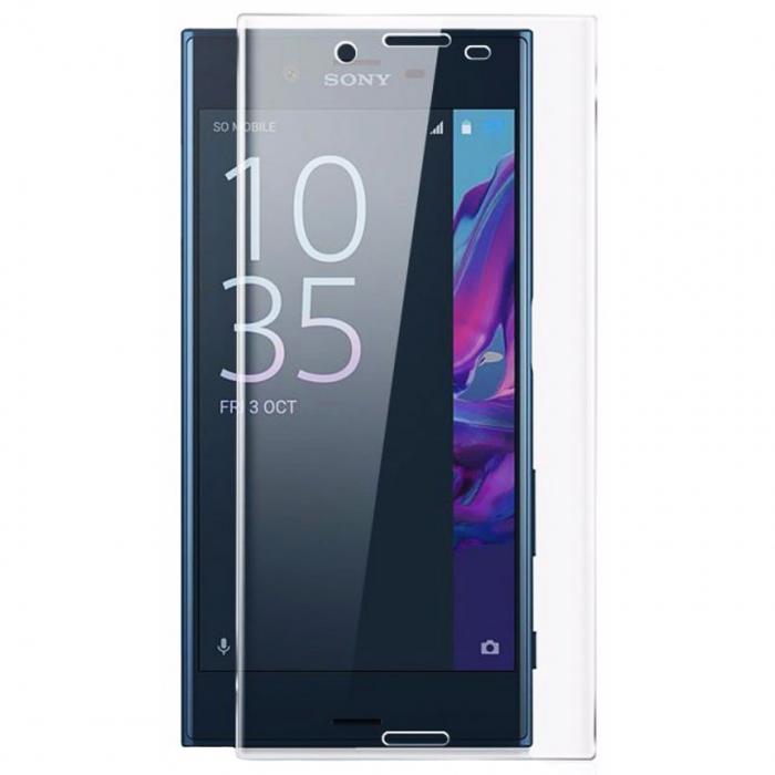 محافظ صفحه نمایش شیشه ای تمپرد مدل Full Cover مناسب برای گوشی موبایل سونی Xperia X
