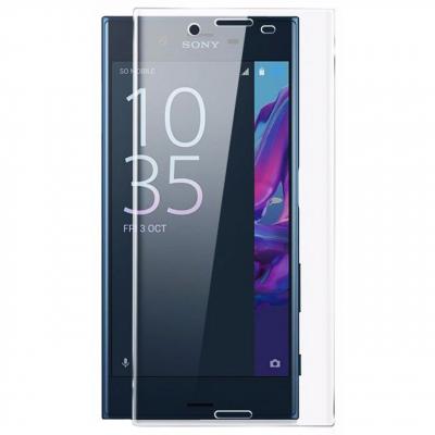 محافظ صفحه نمایش شیشه ای تمپرد مدل Full Cover مناسب برای گوشی موبایل سونی Xperia X (مشکی)