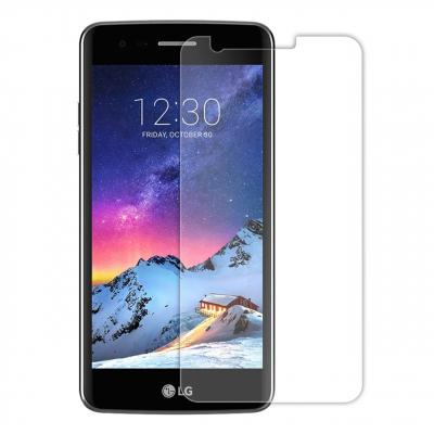 محافظ صفحه نمایش شیشه ای مدل Tempered مناسب برای گوشی موبایل ال جی K8 2017 (بی رنگ)