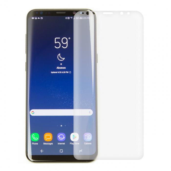 محافظ صفحه نمایش موکول مدل TPU Full Cover مناسب برای گوشی موبایل سامسونگ Galaxy S8 Plus