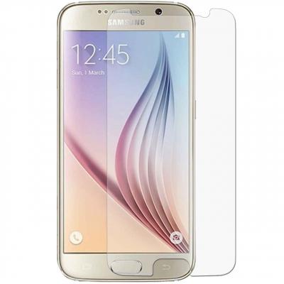 محافظ صفحه نمایش شیشه ای 9H برای گوشی سامسونگ S6 (بی رنگ)