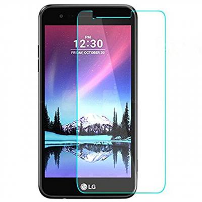 محافظ صفحه نمایش شیشه ای 9H مناسب برای گوشی موبایل ال جی K10 2017 (بی رنگ)