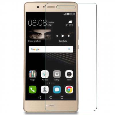 محافظ صفحه نمایش شیشه ای 9H مناسب برای گوشی موبایل هوآوی P9 Lite (بی رنگ)