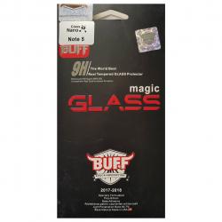 محافظ صفحه نمای شیشه ای بوف مدل نانو مناسب برای گوشی سامسونگ نوت 5