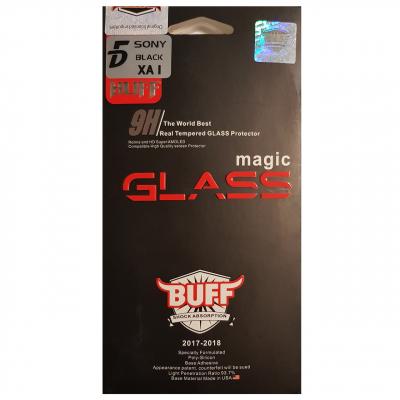 محافظ صفحه نمایش شیشه ای بوف مدل 5D مناسب برای گوشی سونی اکسپریا XA1 (مشکی)